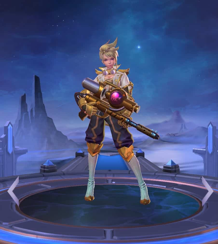 Kimmy best marksman mobile legends