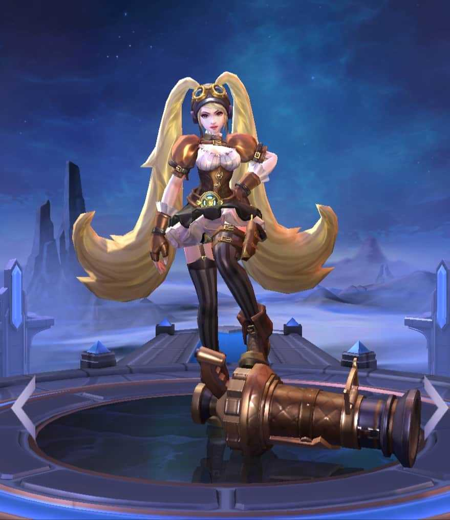 Layla best marksman in mobile legends