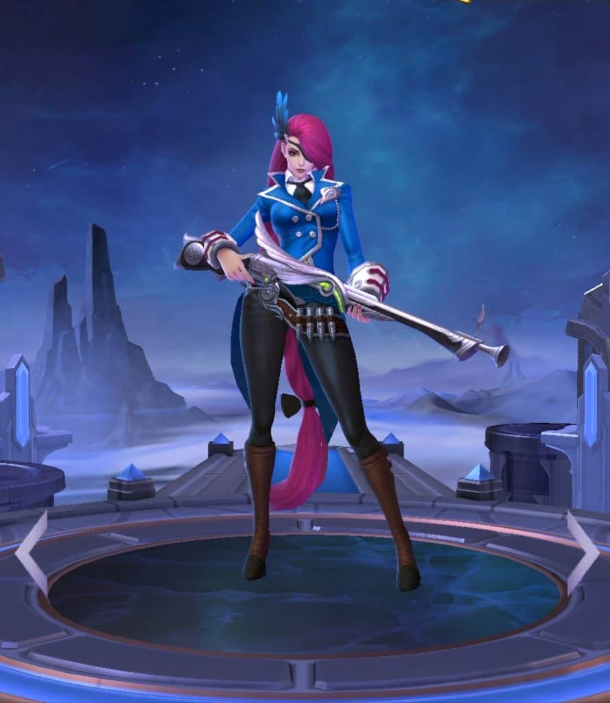 Lesley best marksman mobile legends