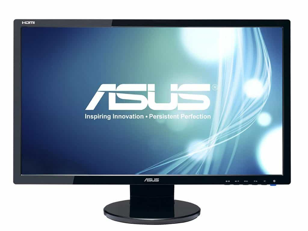 ASUS VE248H 24 Full HD 1920x1080 2ms HDMI DVI VGA Back-lit LED Monitor best gaming monitor with speakers