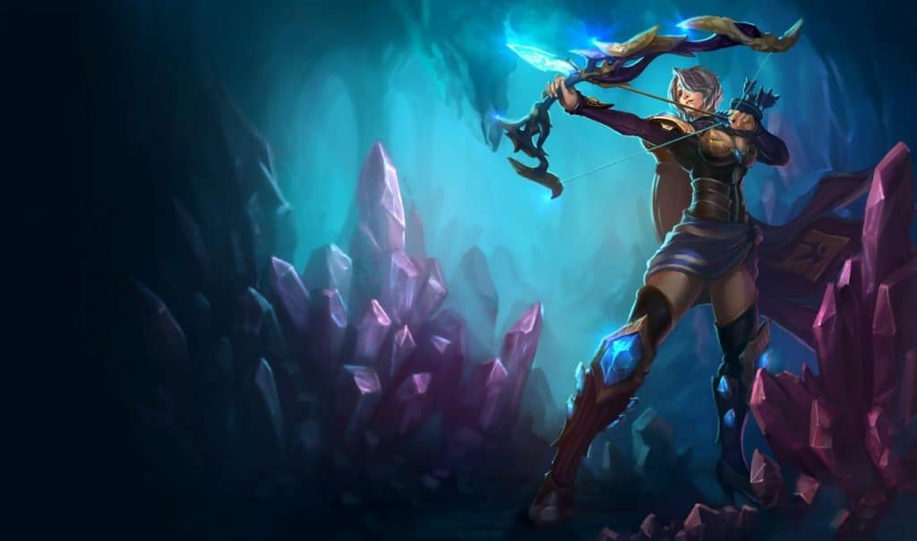 Amethyst Ashe best ashe skin league of legends