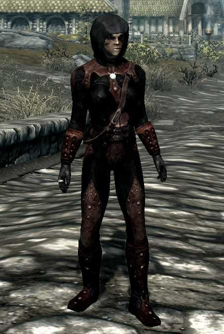 Ancient Shrouded best light armor skyrim