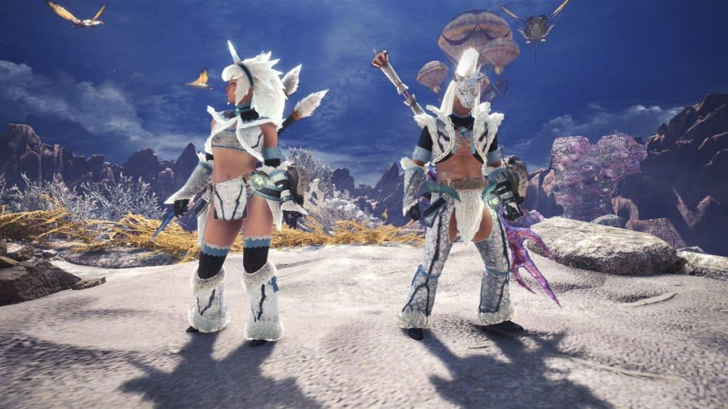 Arch Tempered Kirin Gamma Armor Set best event armor monster hunter world