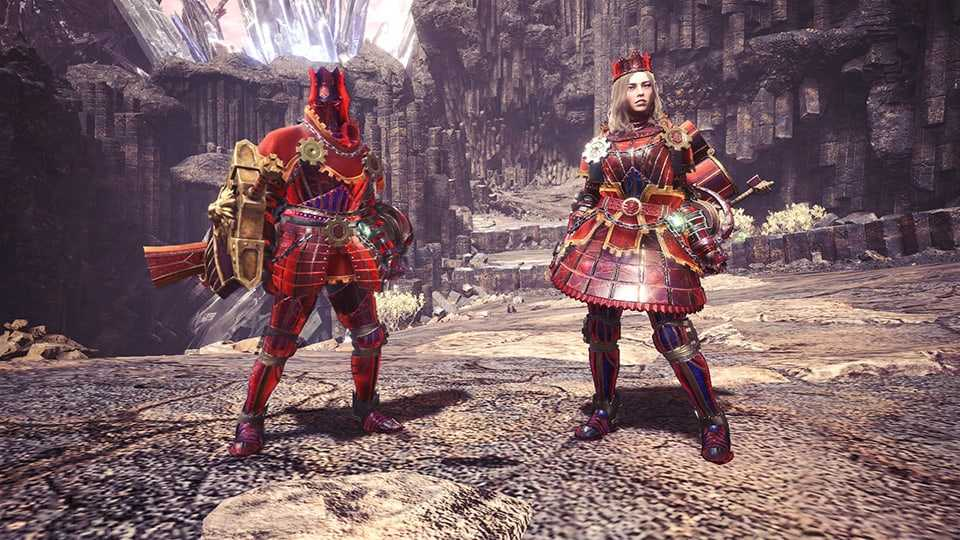 Arch Tempered Teostra Gamma Armor Set best event armor monster hunter world