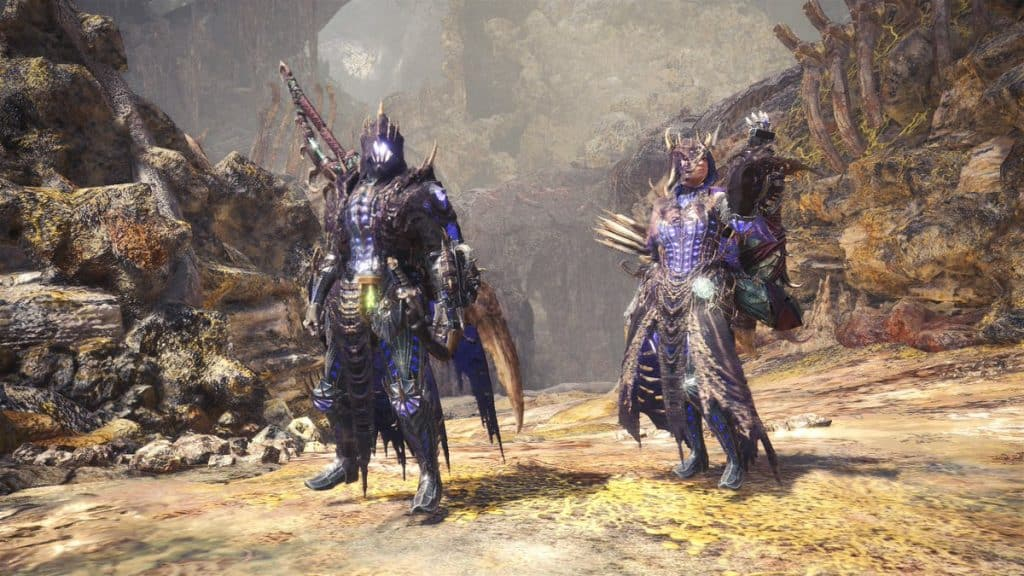 Arch Tempered Vaal Hazak Gamma Armor Set best event armors monster hunter world