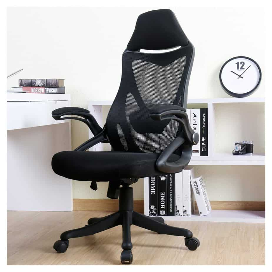 BERLMAN Ergonomic High Back Mesh Office Chair with Adjustable Armrest Lumbar Support Headrest Swivel best gaming chair for long hours