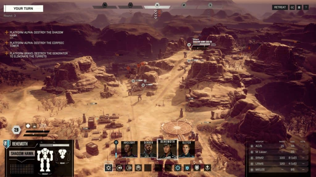 Battletech games like xcom