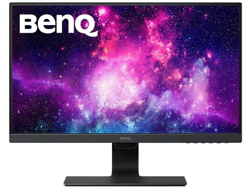 BenQ 24 Inch IPS Monitor 1080P Proprietary Eye-Care Tech Ultra-Slim Bezel Adaptive Brightness for Image Quality Speakers GW2480 review best gaming monitor with speakers