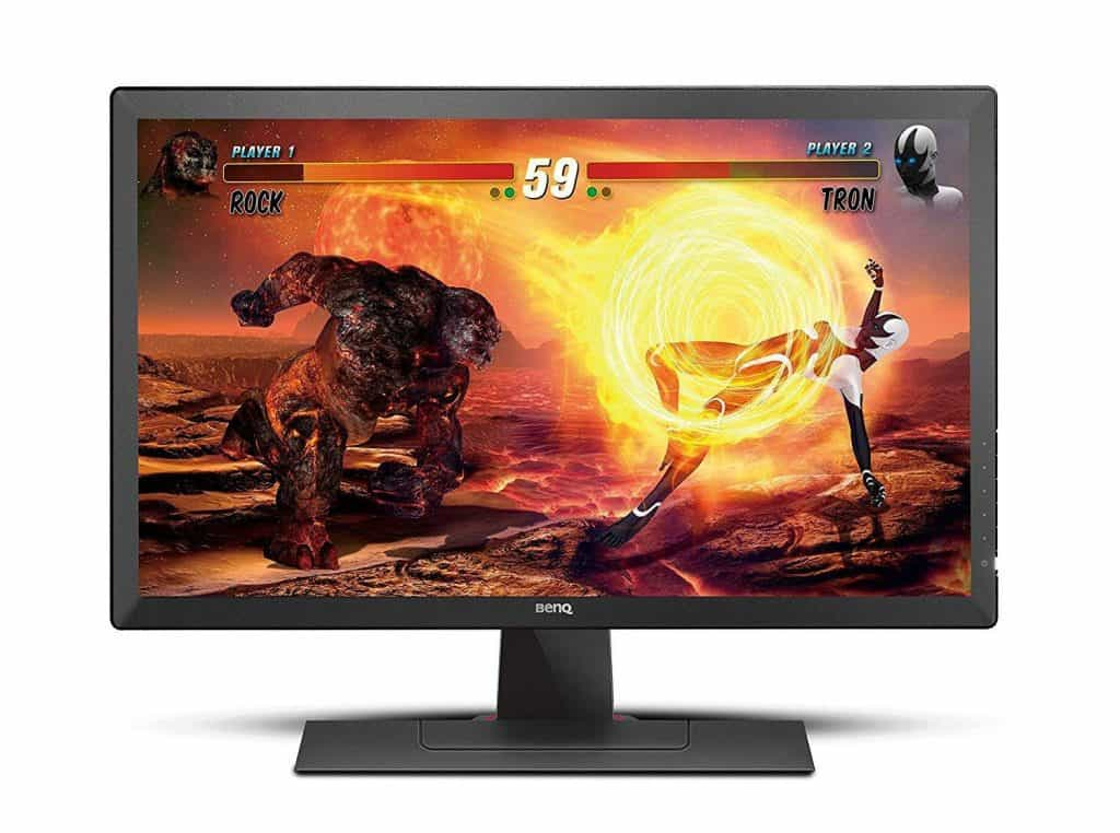 BenQ ZOWIE RL2455S 24 inch 1080p Gaming Monitor 1ms 75Hz Black Equalizer & Color Vibrance for Competitive Edge best gaming monitor eye strain care