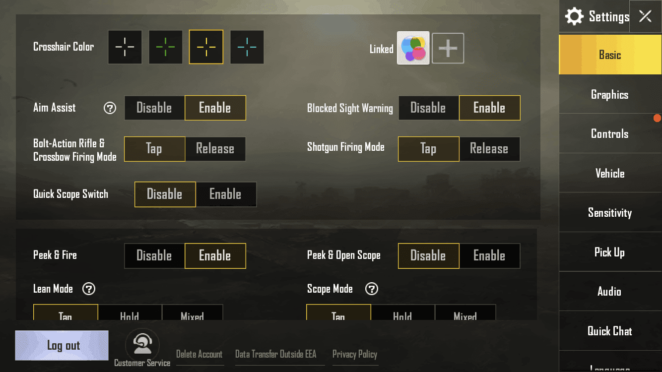 There Are Best Settings For Pubg Mobile Game: Best PUBG Mobile Settings For Sensitivity & Increased FPS