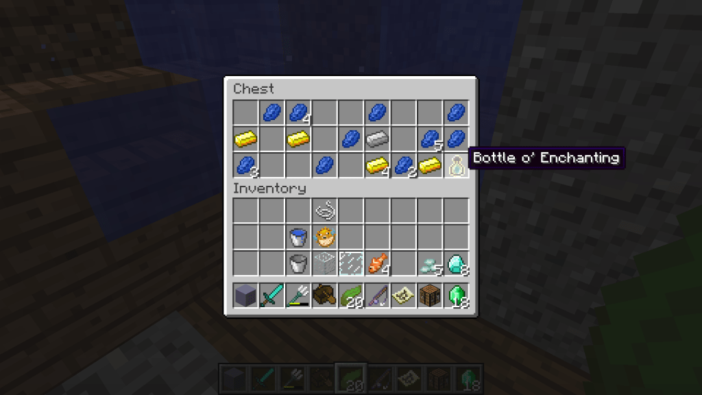 Bottle o' Enchanting best ways to get xp minecraft
