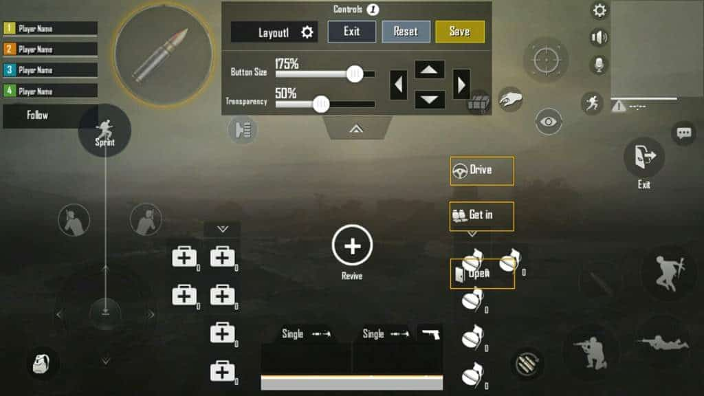 Claw Grip best button layout pubg mobile