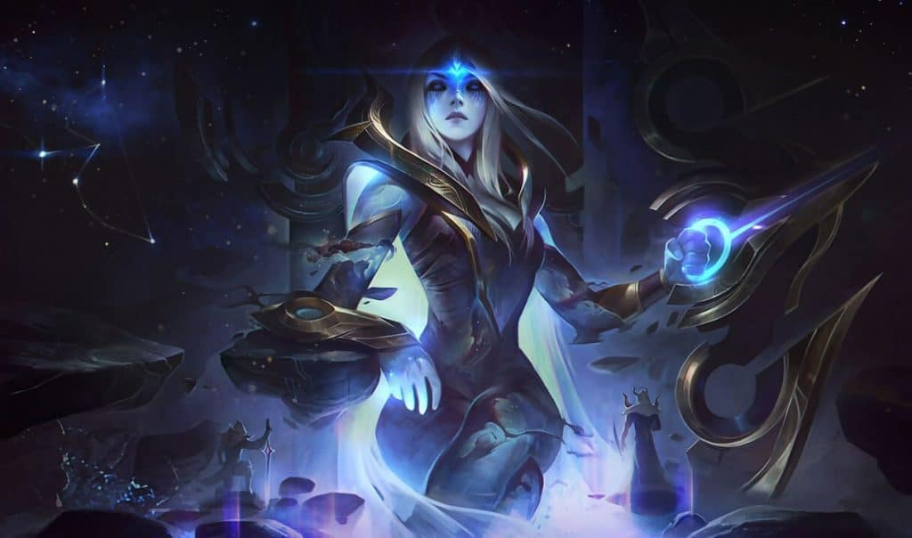 Cosmic Queen Ashe best ashe skin league of legends