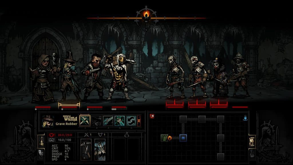 Darkest Dungeon games like xcom