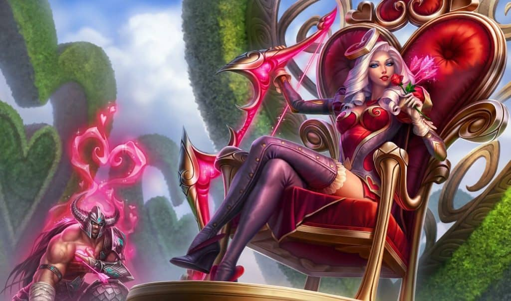 Heartseeker Ashe best ashe skin league of legends