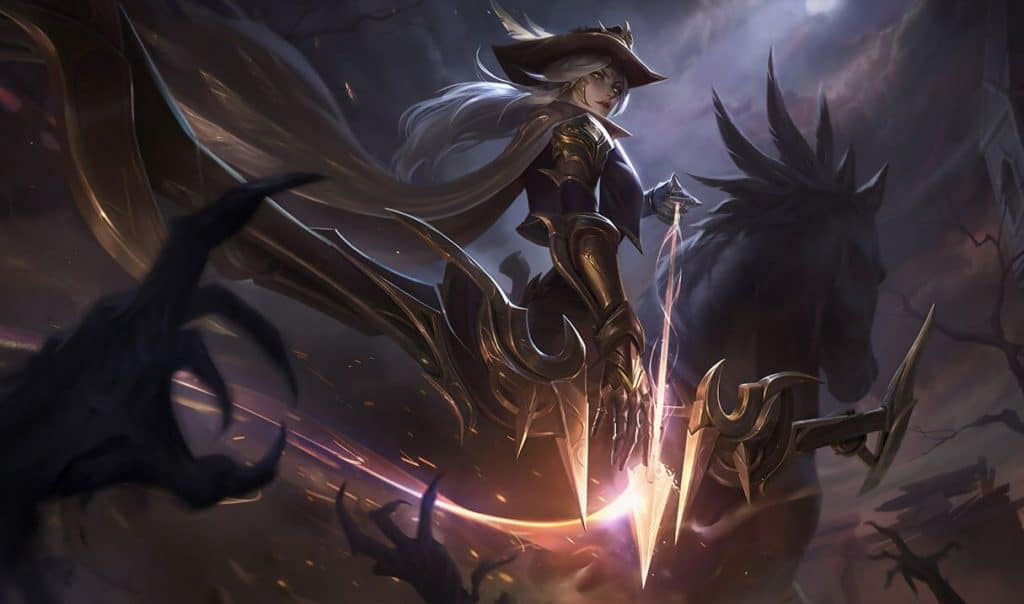 High Noon Ashe best ashe skin league of legends