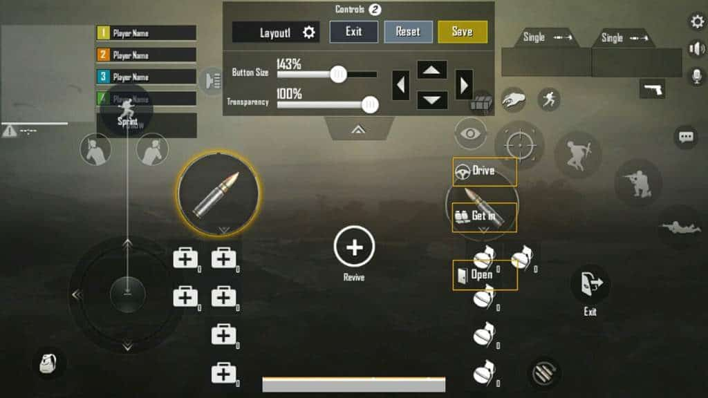 IOS Users Button Setup best button layout pubg mobile