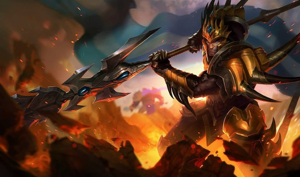Jarvan IV best beginner jungler league of legends