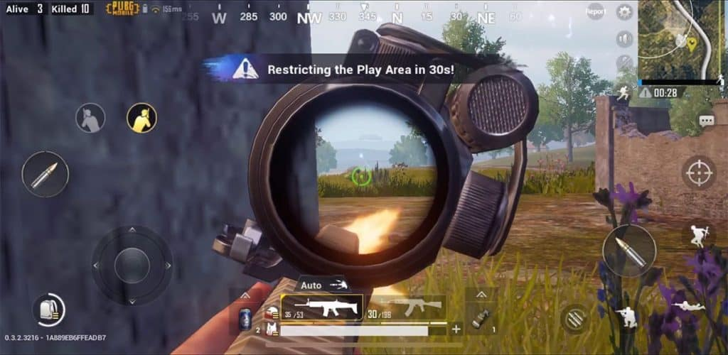Left and Right Peek best button layout pubg mobile