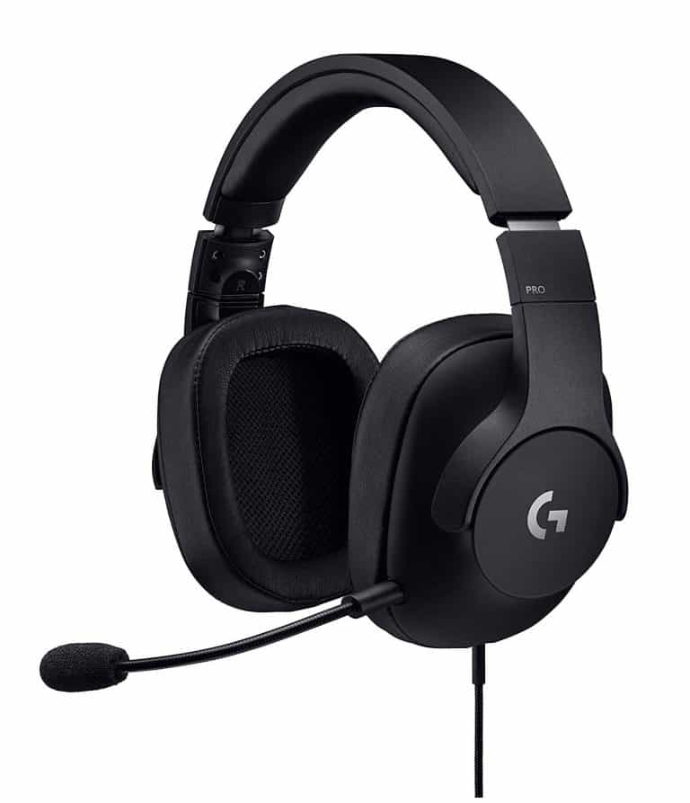 Logitech G Pro Gaming Headset with Pro Grade Mic for Pc, PC VR, Mac, Xbox One, Playstation 4, Nintendo Switch best gaming headsets for discord