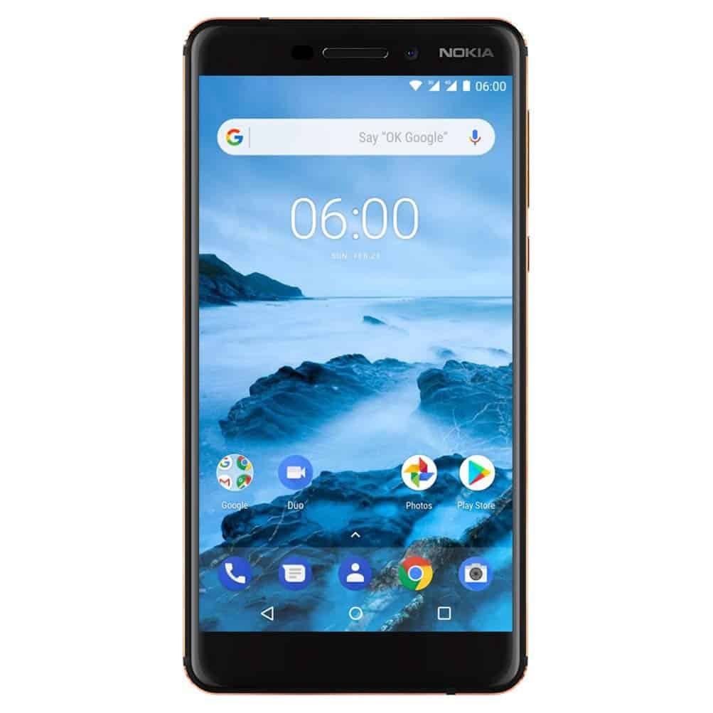 Nokia 6.1 (2018) - Android 9.0 Pie - 32 GB best gaming budget phone