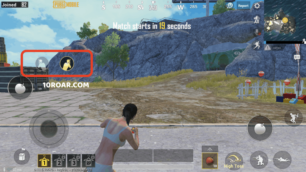 pubg mobile lean & fire option