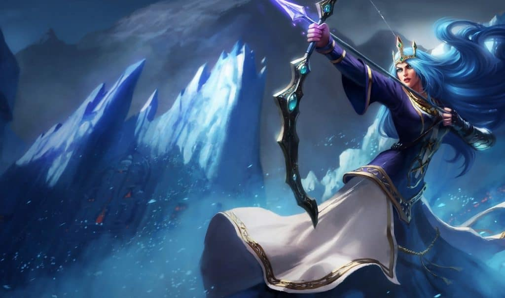 Queen Ashe best ashe skin league of legends