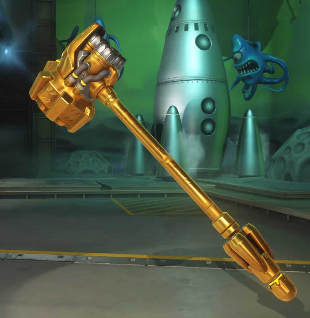 Reinhardt golden weapon