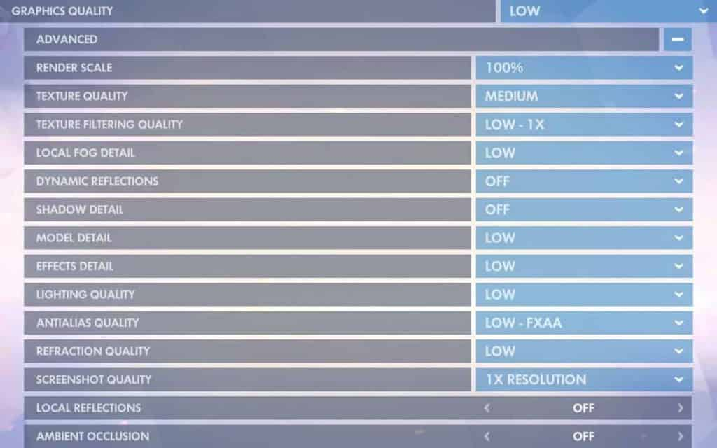 The best graphic settings for Overwatch