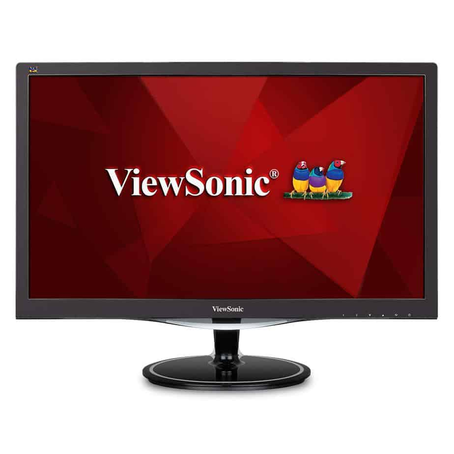 ViewSonic VX2457-MHD 24 Inch 75Hz 2ms 1080p Gaming Monitor with FreeSync Eye Care HDMI and DP best gaming monitor eye care strain