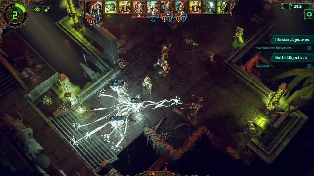 Warhammer 40,000 Mechanicus games like xcom 2