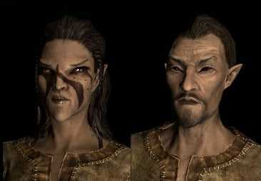 Wood Elf Bosmer best race skyrim