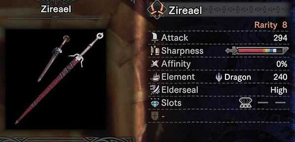 Zireael best dual blades monster hunter world