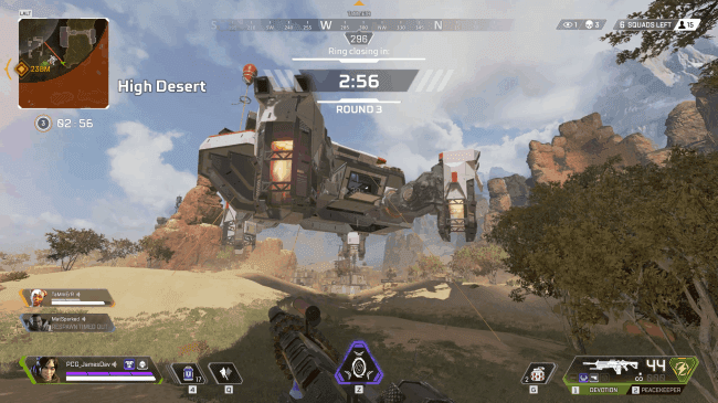 apex legends supply ships best landing spot