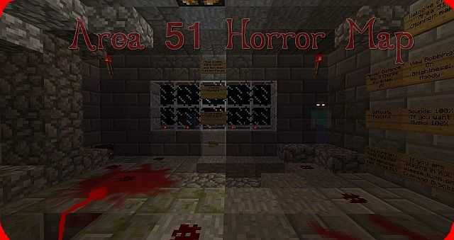 area 51 best horror maps minecraft