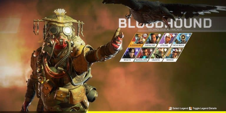 best apex legends character bloodhound