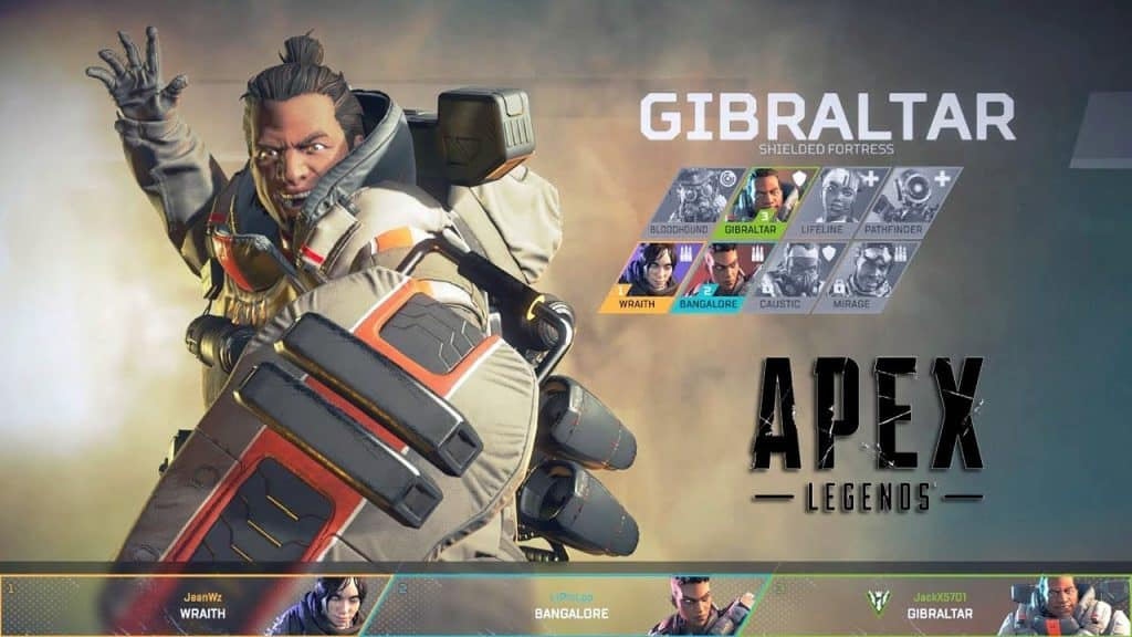 best apex legends character gibraltar
