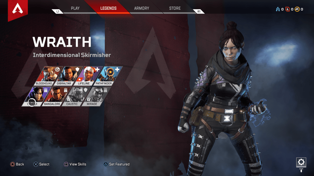 best apex legends characters wraith
