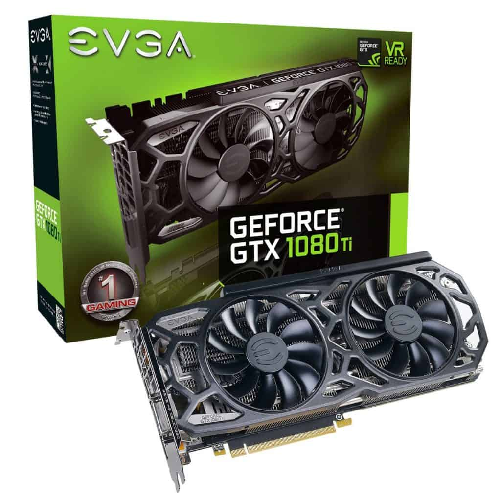 best graphic card for rust EVGA GeForce GTX 1080 Ti SC Black Edition Gaming, 11GB GDDR5X, iCX Cooler & LED, Optimized Airflow Design, Interlaced Pin Fin Graphics Card 11G-P4-6393-KR