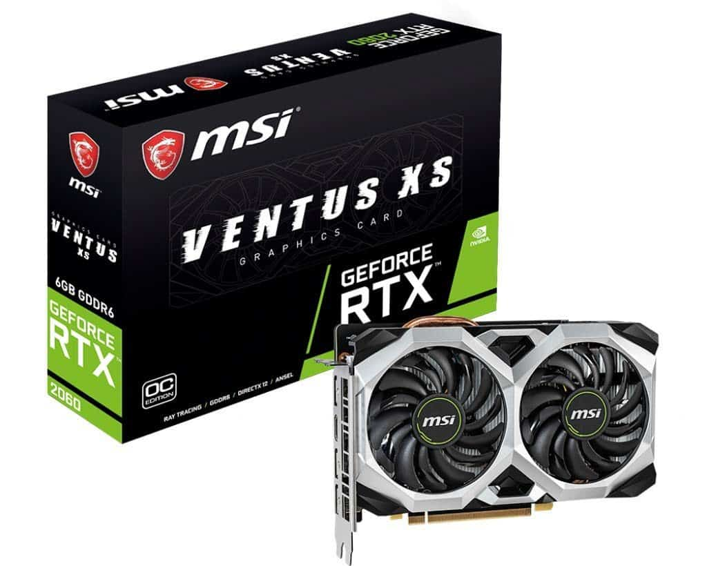 best graphic card for rust MSI Gaming GeForce RTX 2060 6GB GDRR6 192-bit HDMI/DP Ray Tracing Turing Architecture VR Ready Graphics Card (RTX 2060 Ventus XS 6G OC)