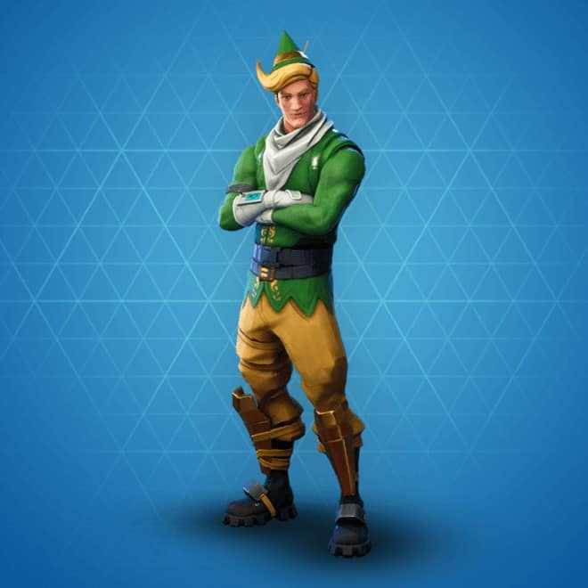 codename elf rarest skins fortnite