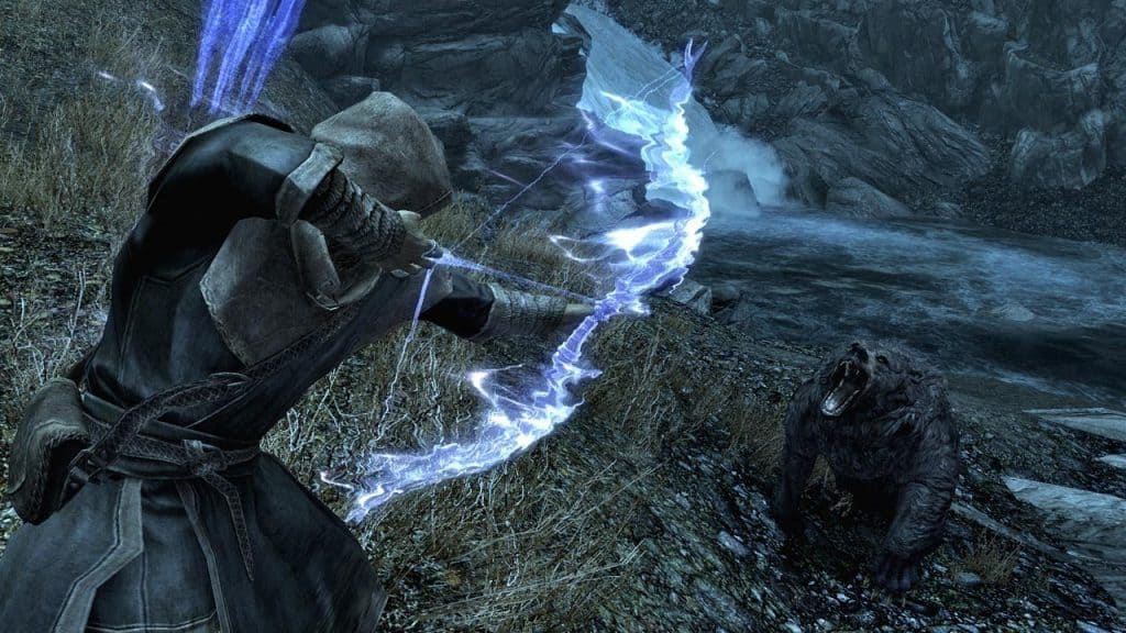 conjuration archer bow best builds skyrim