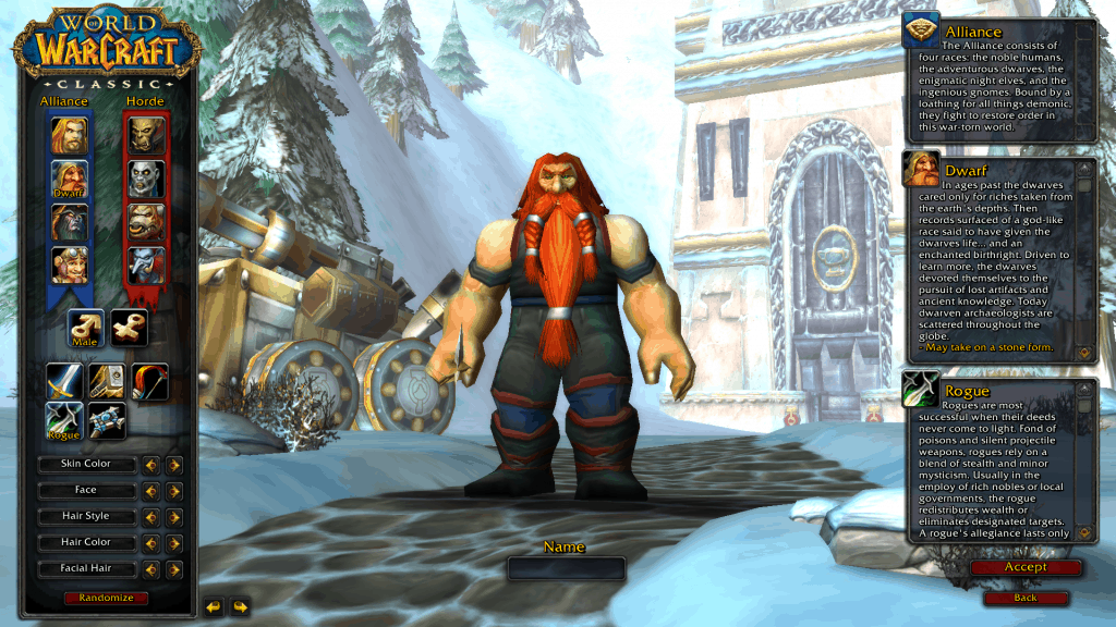 dwarf best rogue race wow classic