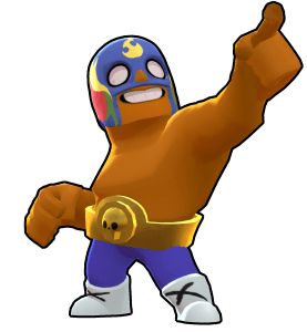 el primo , one of the best brawlers in brawl stars