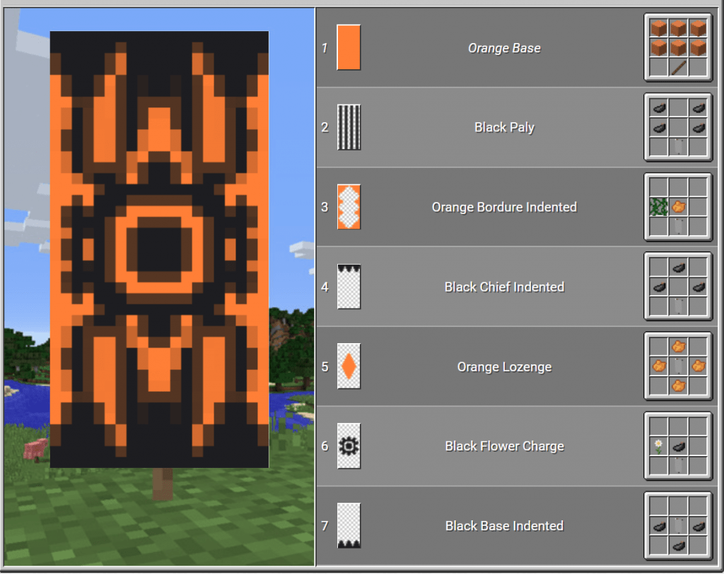 Top 10 Coolest Banners In Minecraft