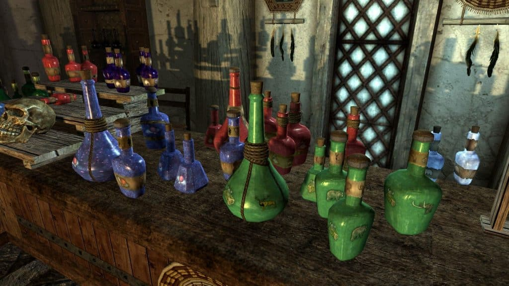 five effect skyrim best potions