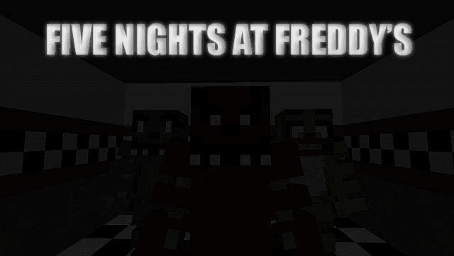 five nights at freddys best horror maps minecraft