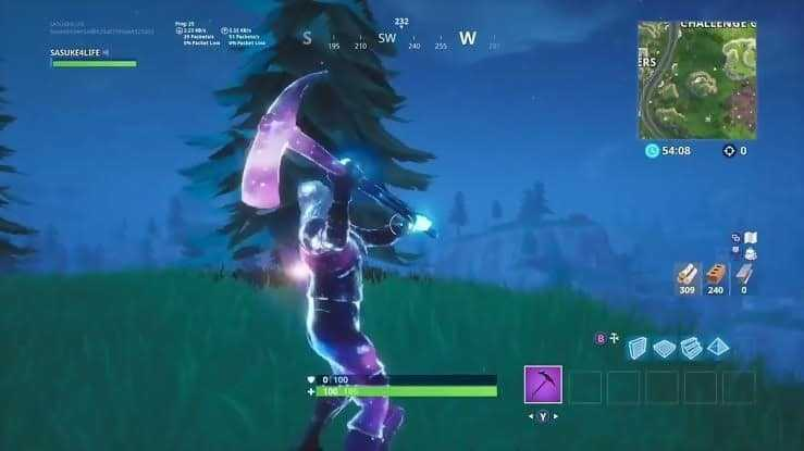 galaxy in game stellar axe best pickaxe skins fortnite