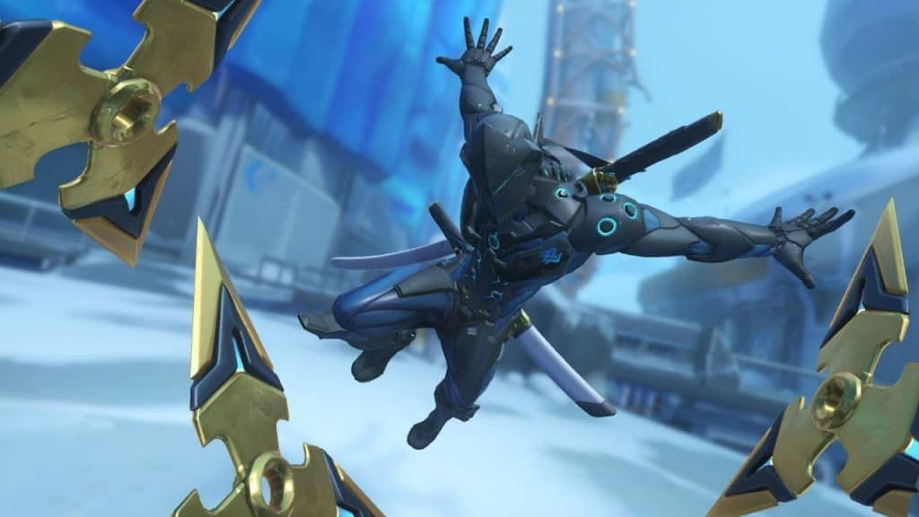 genji best gold Shuriken weapon overwatch