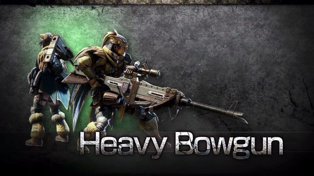 heavy bowgun monster hunter world weapon